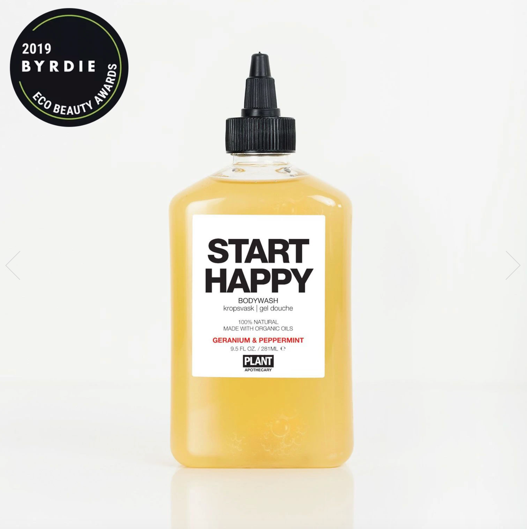 Plant Apothecary START HAPPY Organic Body Wash