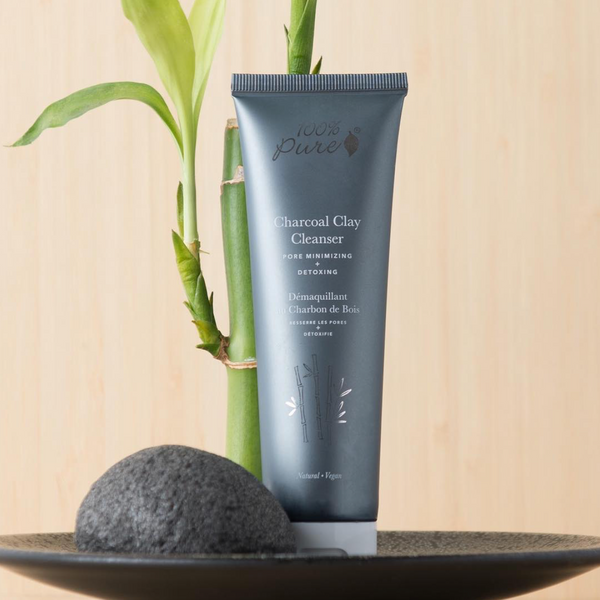 100 Percent Pure Charcoal Clay Cleanser