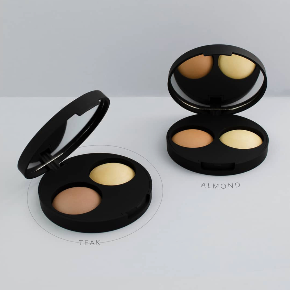 Inika Baked Contour Highlight Duo