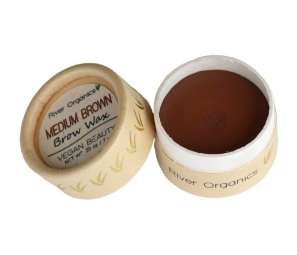 River Organics Eyebrow Wax Medium Brown