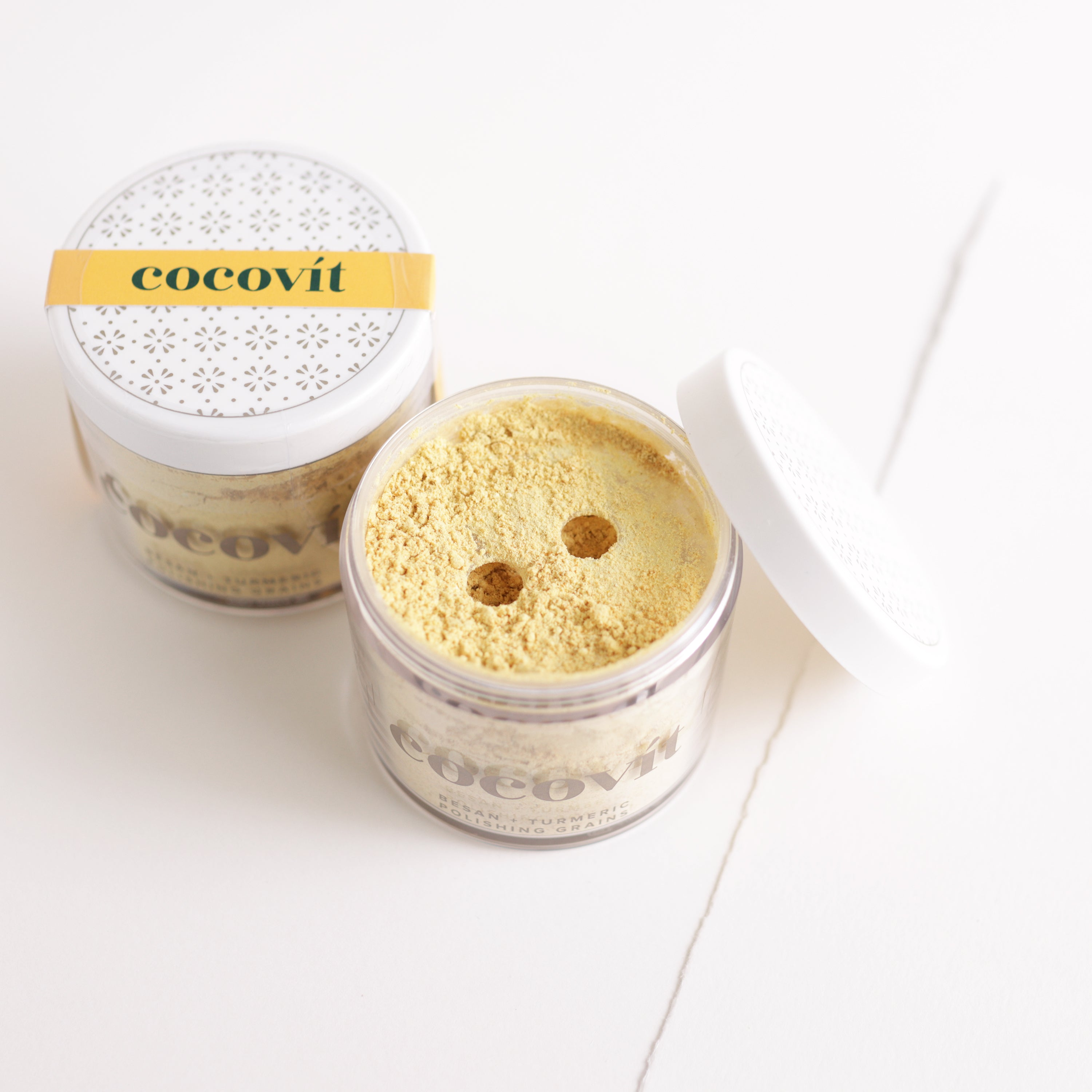 Cocovit Besan and Turmeric Polishing Grains