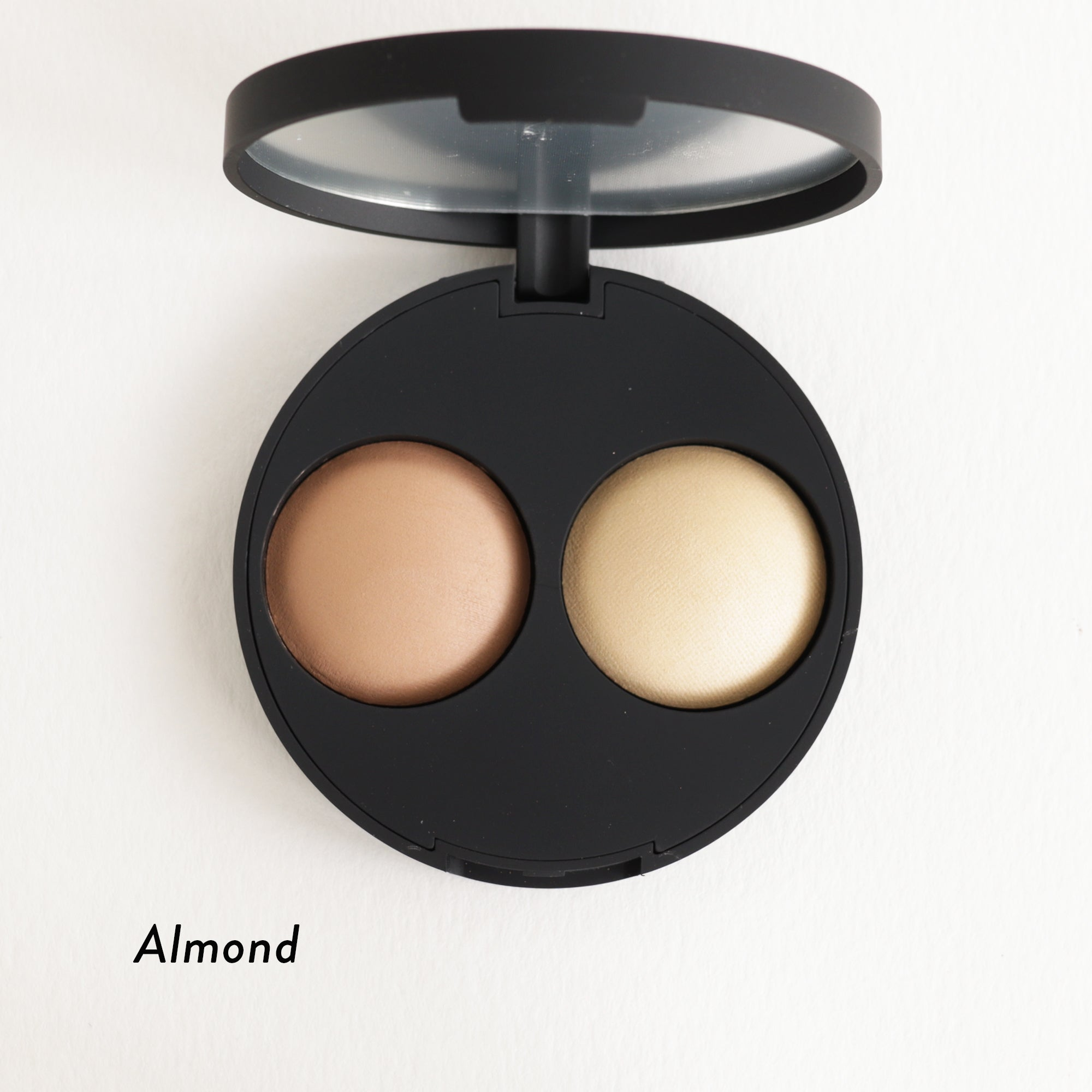 Inika Baked Contour Highlight Duo Almond