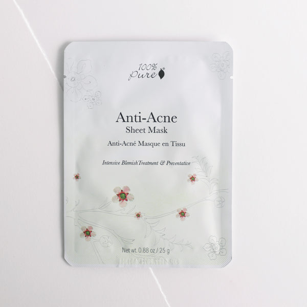 100 Percent Pure Anti-Acne Sheet Mask