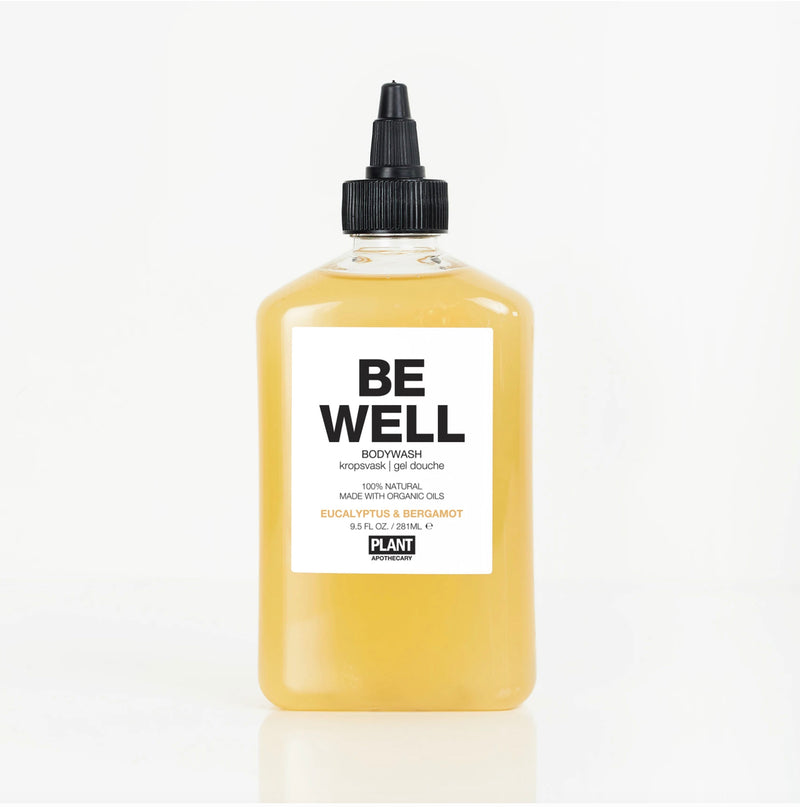 Plant Apothecary Organic Body Wash Be Well