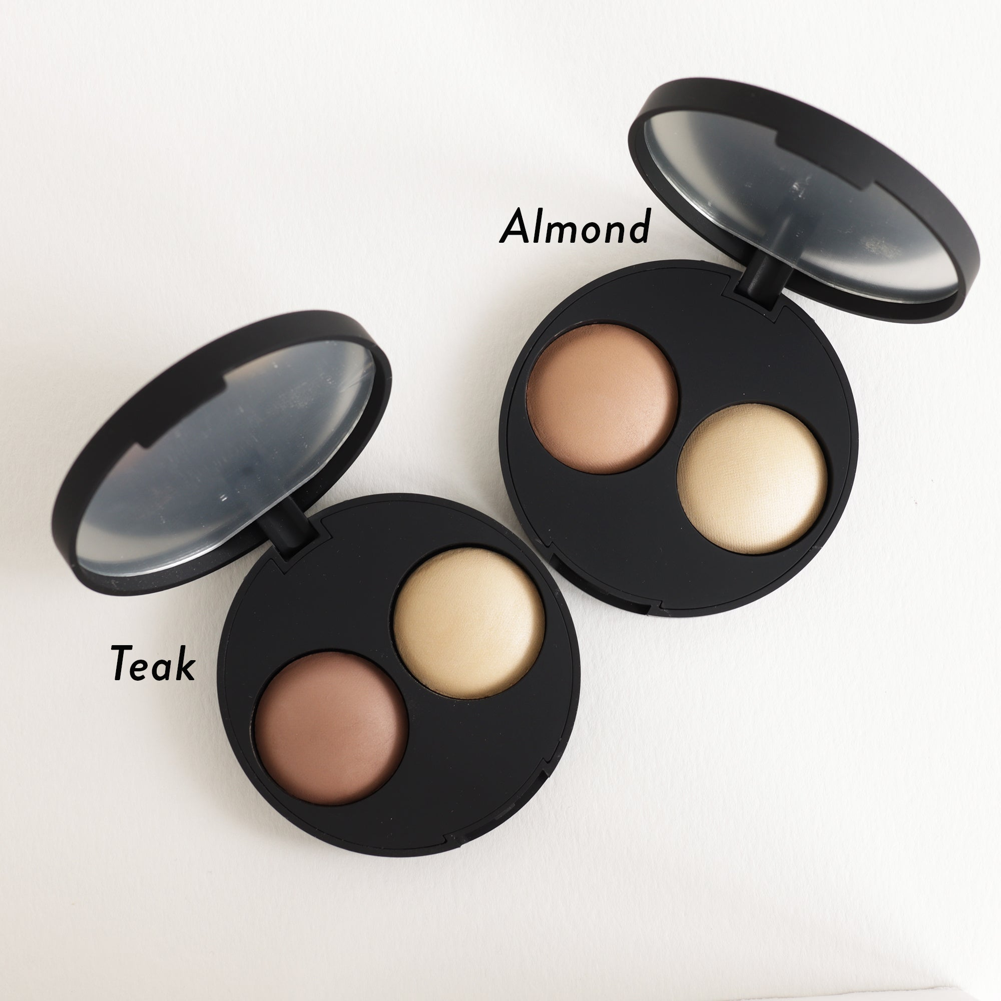 Inika Baked Contour Highlight Duo Shades