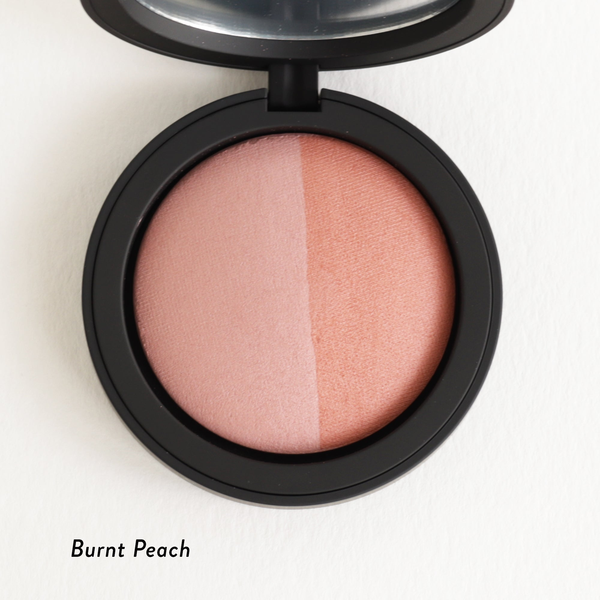 Inika Baked Mineral Blush Duo Burnt Peach
