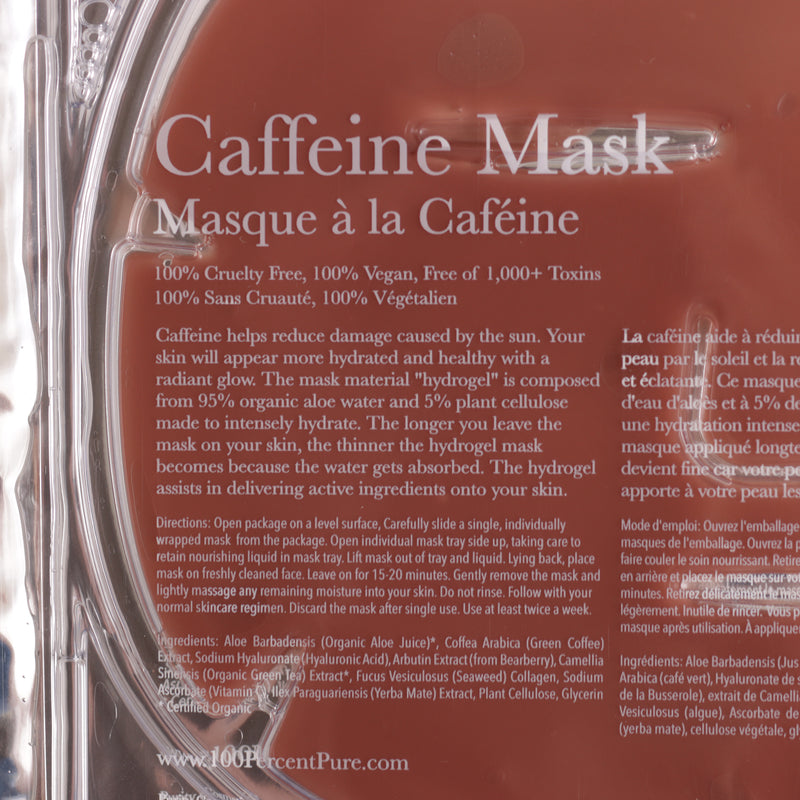 100 Percent Pure Caffeine Mask