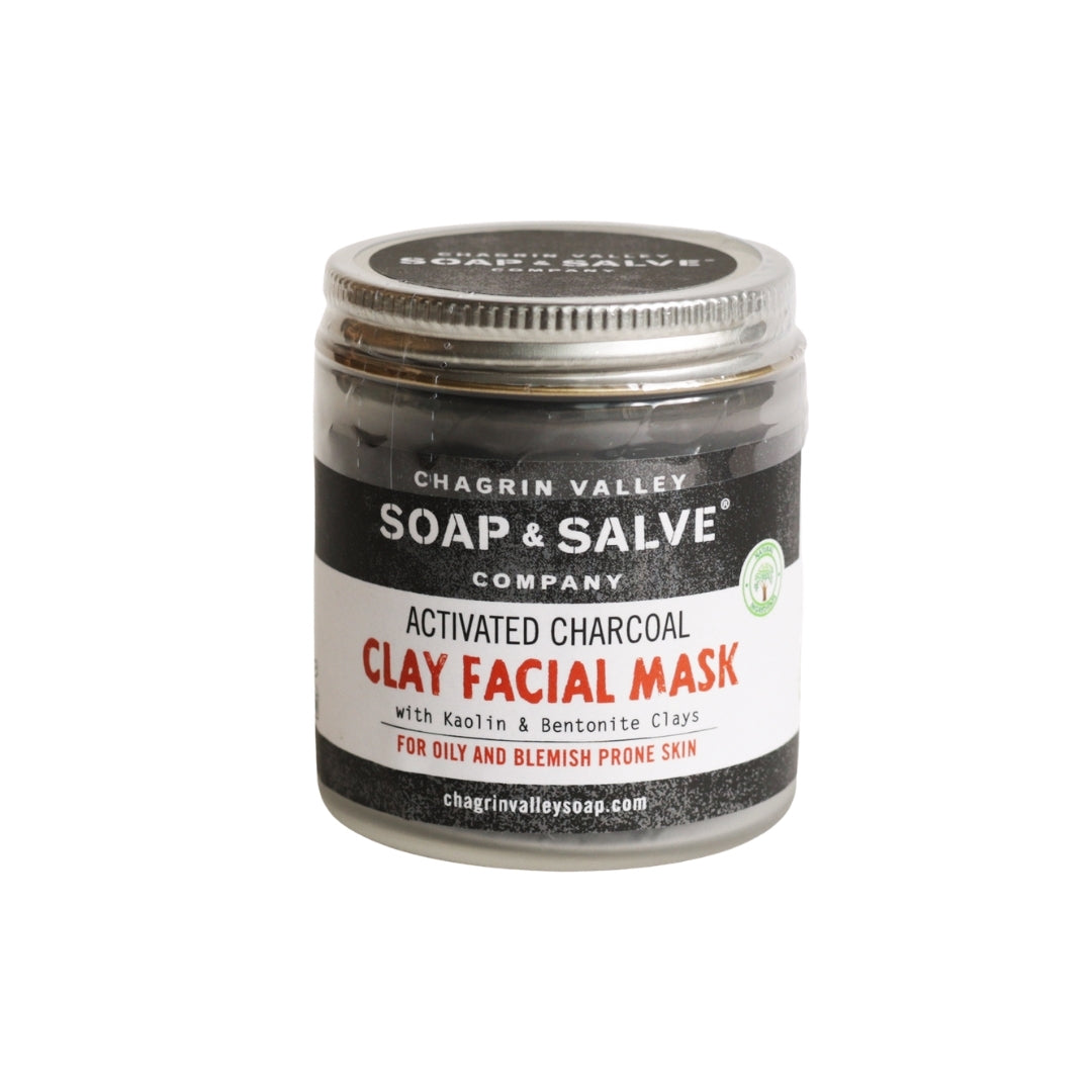 Chagrin Valley Soap & Salve Activated Charcoal Clay Face Mask