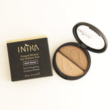 Inika Pressed Mineral Eyeshadow Duo Gold Oyster