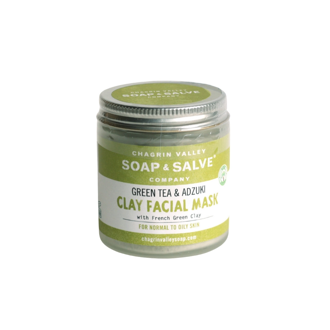 Chagrin Valley Soap & Salve Green Tea & Adzuki Clay Face Mask