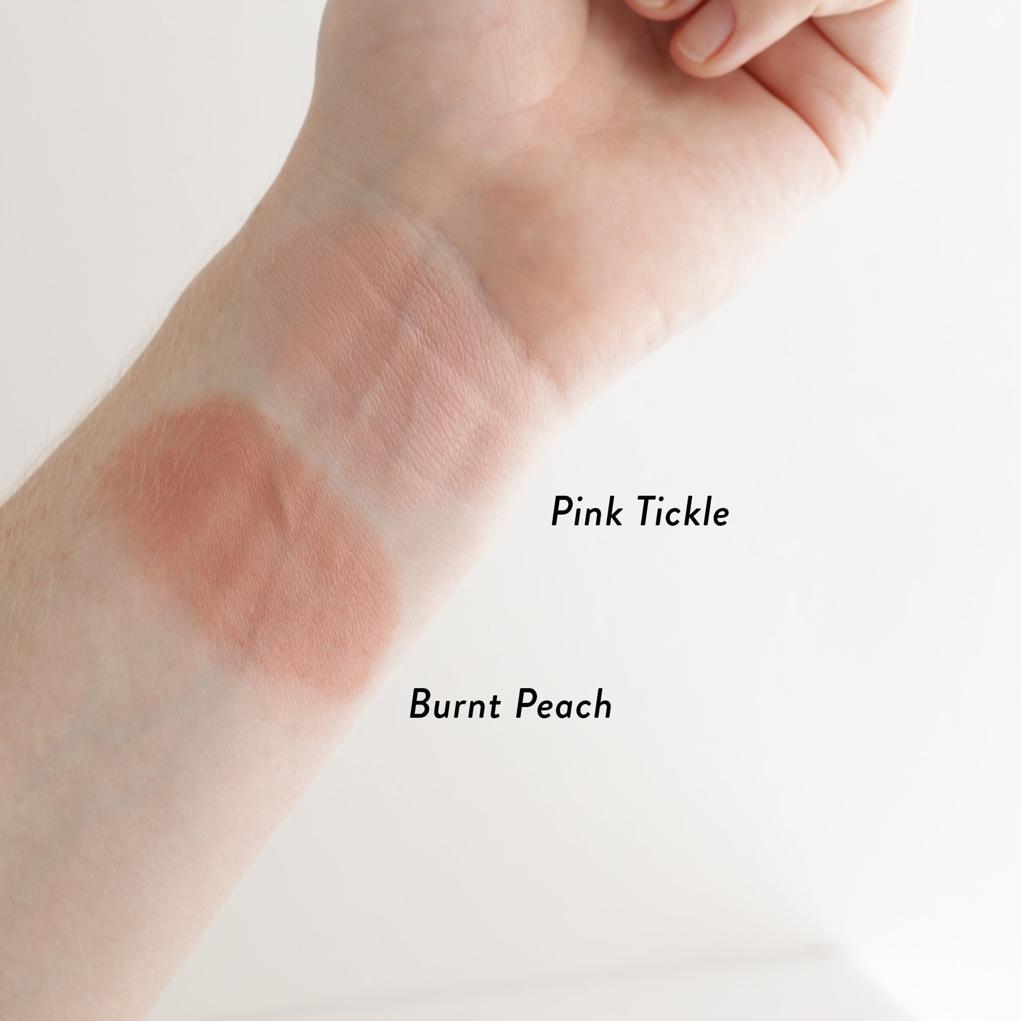 Inika Baked Mineral Blush Duo Swatches