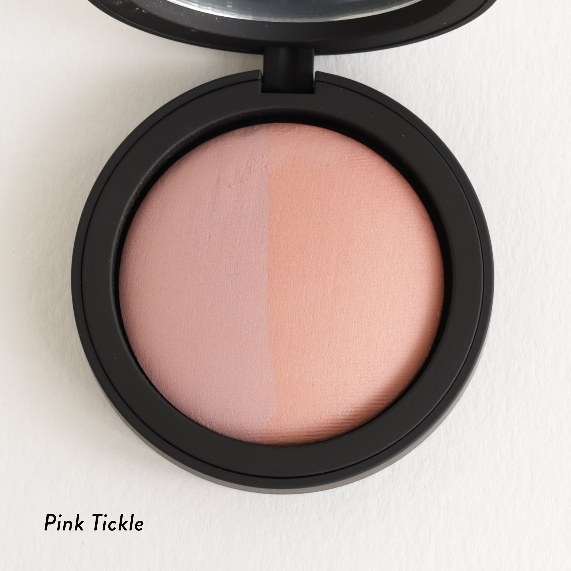 Inika Baked Mineral Blush Duo Pink Tickle