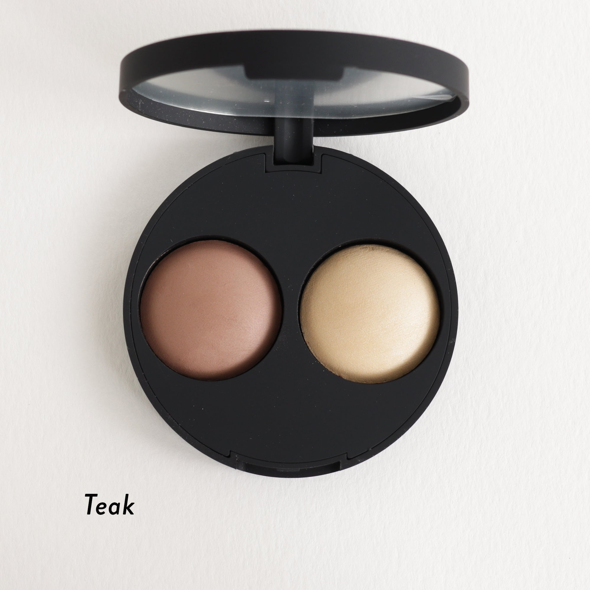 Inika Baked Contour Highlight Duo Teak