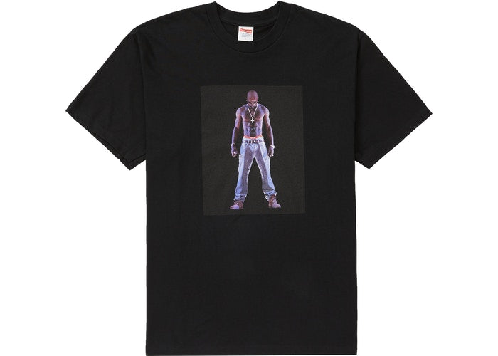 Authentic Supreme Tupac Tee Black - Sneak Foot Co