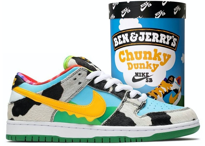 Authentic Dunk Low SB Chunky Dunky (Friends & Family Ice Cream Box) - Sneak Foot Co
