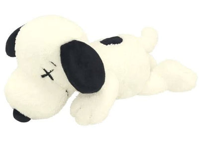 Authentic KAWS X Uniqlo & Peanuts Snoopy Plush White - Sneak Foot LTD