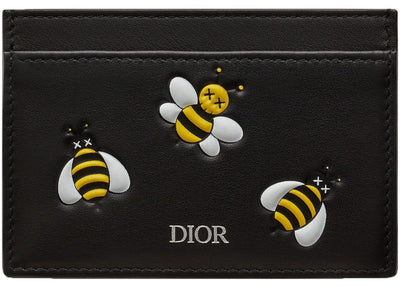 Authentic Dior X KAWS Card Holder Yellow Bees - Sneak Foot LTD