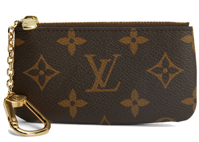 Authentic Louis Vuitton Key Pouch Brown Monogram - Sneak Foot Co