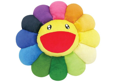 Authentic Takashi Murakami Flower Cushion Rainbow (60CM) - Sneak Foot Co