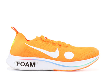 Authentic Zoom Fly Mercurial Off-White Total Orange - Sneak Foot Co