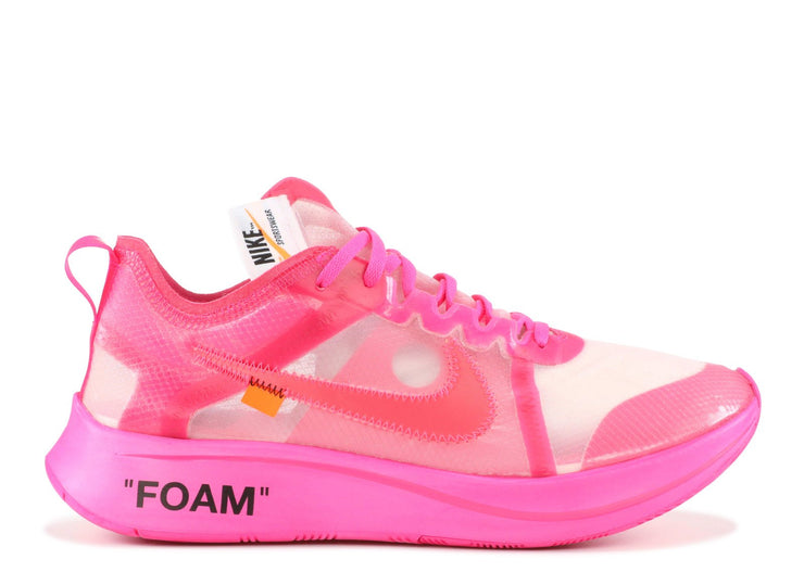 Authentic Zoom Fly Mercurial Off-White Pink - Sneak Foot Co