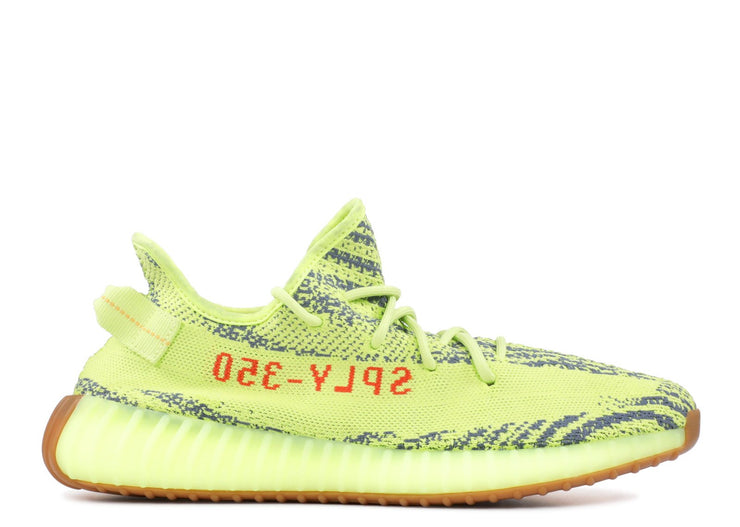 Authentic Yeezy Boost 350 V2 Semi Frozen Yellow - Sneak Foot LTD