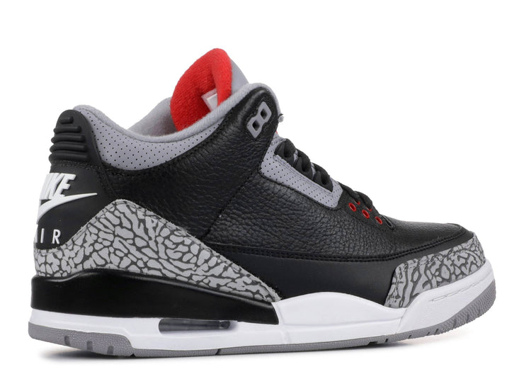 Authentic Jordan 3 Retro Black Cement (2018) - Sneak Foot Co