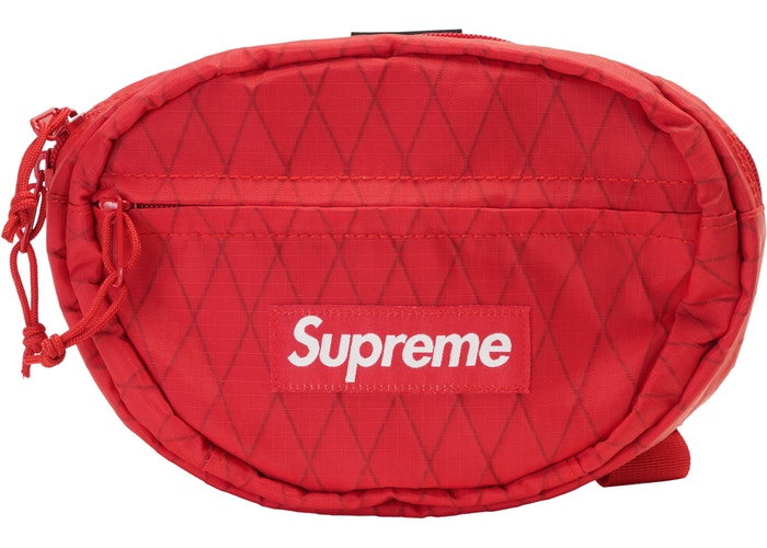 Authentic Supreme Waist Bag Red FW18 - Sneak Foot Co