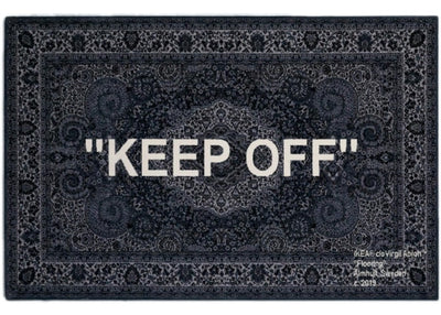 Authentic Virgil Abloh X IKEA Markerad Keep Off Rug - Sneak Foot Co