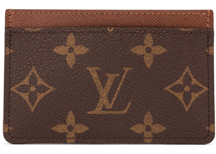 Authentic Louis Vuitton Brown Monogram Card Holder - Sneak Foot Co
