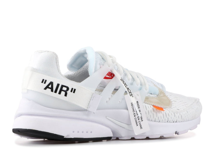Authentic Air Presto Off-White 2018 White - Sneak Foot LTD