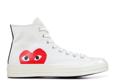 Authentic Converse All Star 70's High CDG Milk - Sneak Foot LTD