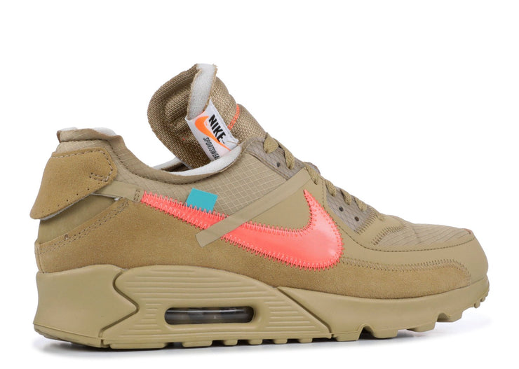 Authentic Air Max 90 Off-White Desert Tan - Sneak Foot LTD
