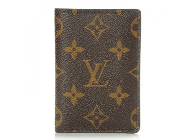 Authentic Louis Vuitton Monogram Pocket Card Holder - Sneak Foot Co