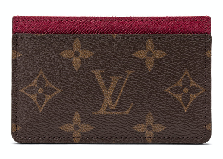 Authentic Louis Vuitton Monogram Card Holder Fuchsia - Sneak Foot Co