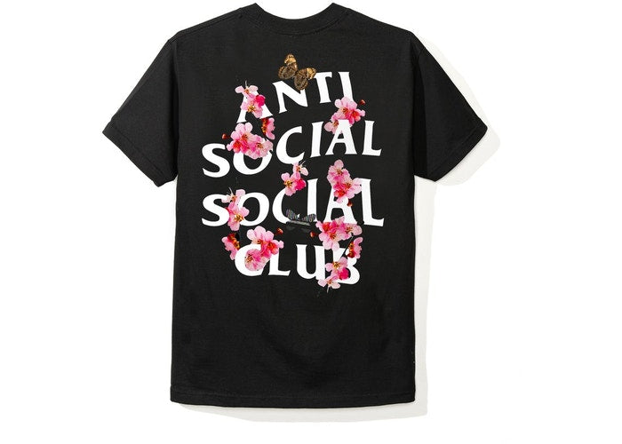Authentic Anti Social Social Club SS20 Kkoch Tee Black - Sneak Foot LTD