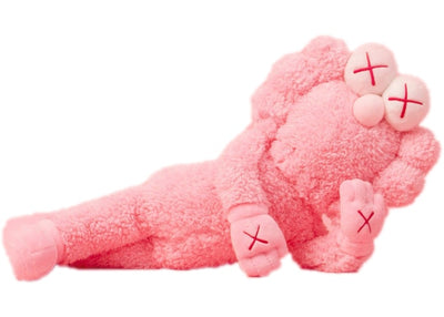Authentic KAWS BFF Pink Plush - Sneak Foot Co