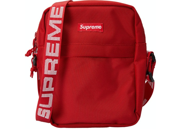 Authentic Supreme SS18 Shoulder Bag Red - Sneak Foot Co