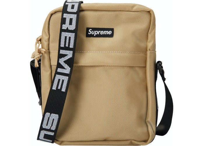 Authentic Supreme SS18 Shoulder Bag Khaki - Sneak Foot Co