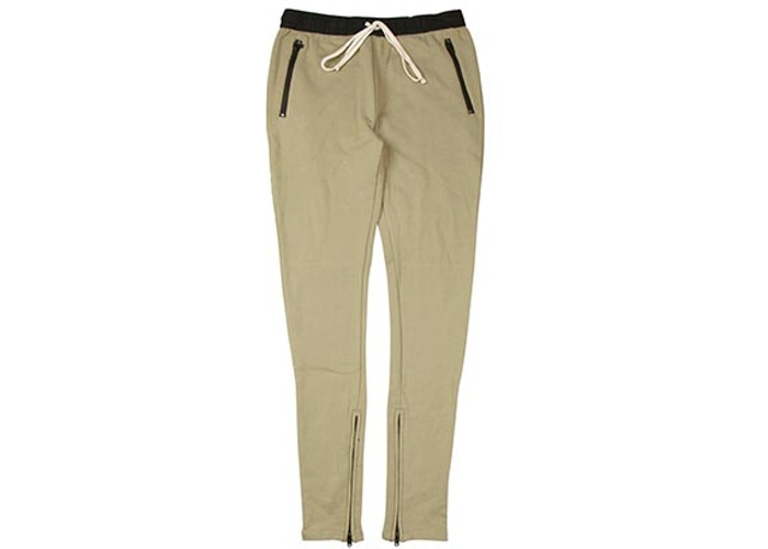 Authentic Fear Of God Essentials Drawstring Joggers Khaki - Sneak Foot Co