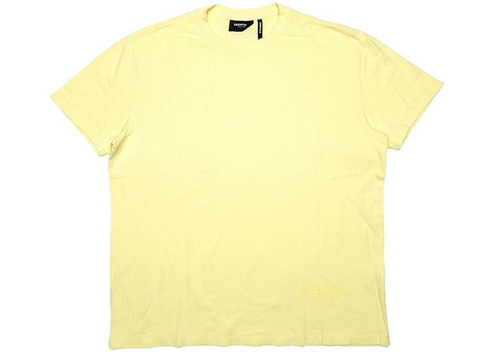 Authentic Fear Of God Essentials Yellow Boxy Tee - Sneak Foot Co