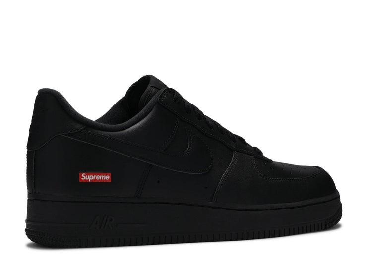 Authentic Air Force 1 Low Supreme Black - Sneak Foot Co