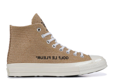 Authentic Converse Chuck Taylor 70's High Golf Le Fleur Burlap - Sneak Foot LTD