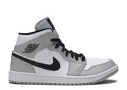 Authentic Jordan 1 Retro Mid Smoke Grey - Sneak Foot Co