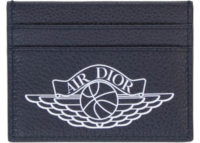 Authentic Dior X Jordan Card Holder Navy - Sneak Foot Co