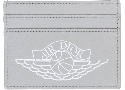 Authentic Dior X Jordan Card Holder Grey - Sneak Foot Co