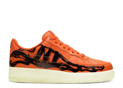 Authentic Air Force 1 Low Orange Skeleton