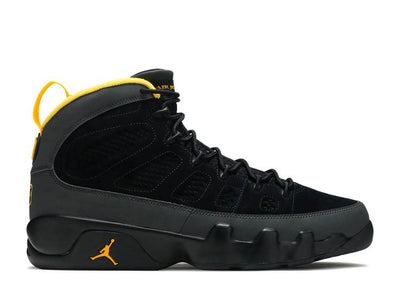 Authentic Jordan 9 Retro Dark Charcoal University Gold