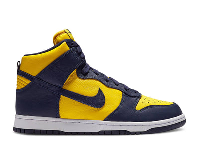 Authentic Dunk High Retro 2020 Michigan