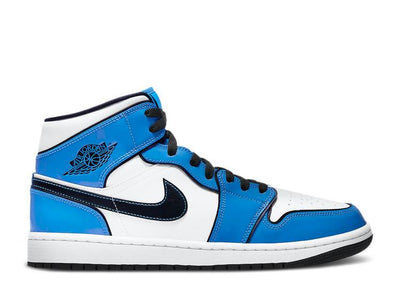 Authentic Jordan 1 Retro Mid Signal Blue